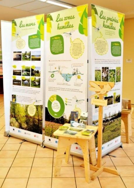 Exposition sur les zones humides présentée du 18 au 21 Mars 2016 à Armentières en Brie ©  © Michel Kalensky
