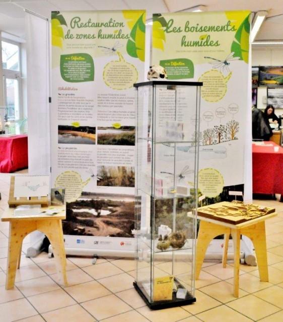 Exposition sur les zones humides présentée le 23 Mars 2016 à Armentières en Brie ©  © Michel Kalensky