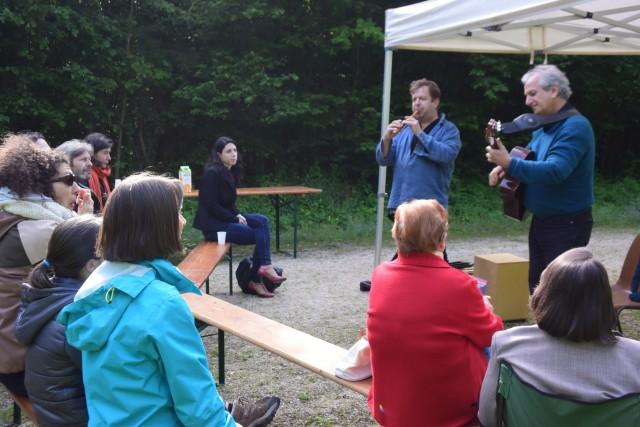 Concert Nature par l'Ensemble FA7 - 25 mai 2015 - en partenariat avec la Communauté d'Agglomération du Pays de l'Ourcq (CCPO) © Adeline Urbain