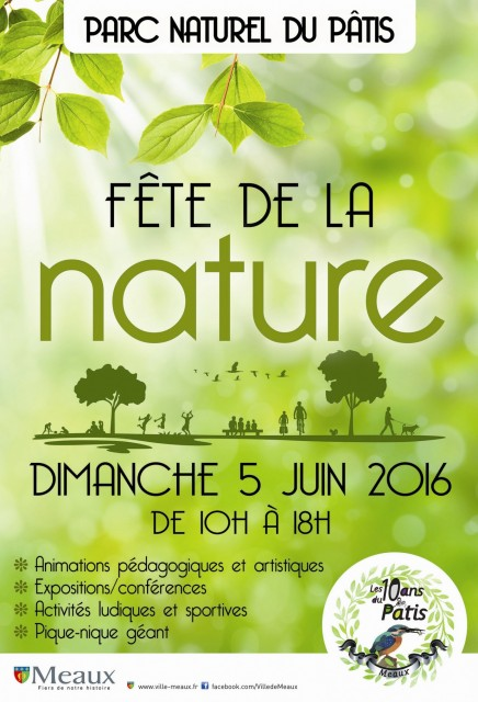 Fête de la Nature affiche